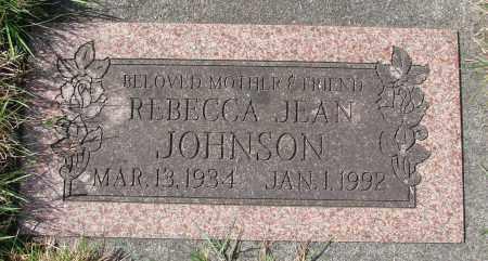 JOHNSON, REBECCA JEAN - Tillamook County, Oregon | REBECCA JEAN JOHNSON - Oregon Gravestone Photos