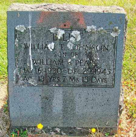 JOHNSON, WILLIAM T - Tillamook County, Oregon | WILLIAM T JOHNSON - Oregon Gravestone Photos