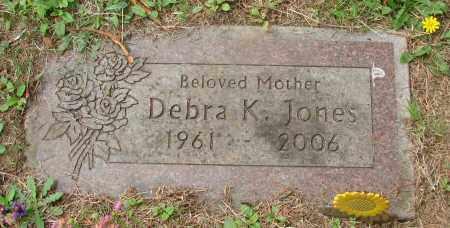 JONES, DEBRA K - Tillamook County, Oregon | DEBRA K JONES - Oregon Gravestone Photos