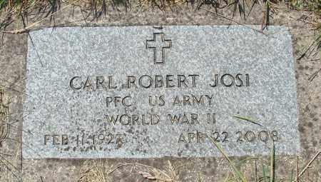 JOSI, CARL ROBERT - Tillamook County, Oregon   CARL ROBERT JOSI - Oregon Gravestone Photos