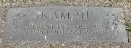 KAMPH, CAROLINE - Tillamook County, Oregon | CAROLINE KAMPH - Oregon Gravestone Photos
