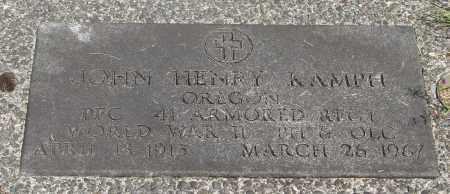 KAMPH (WWII), LEO C - Tillamook County, Oregon | LEO C KAMPH (WWII) - Oregon Gravestone Photos