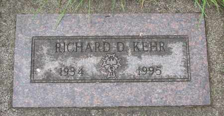 KEHR, RICHARD D - Tillamook County, Oregon | RICHARD D KEHR - Oregon Gravestone Photos