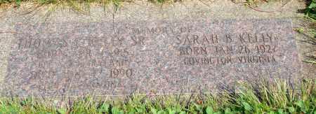 KELLY, SARAH B - Tillamook County, Oregon   SARAH B KELLY - Oregon Gravestone Photos