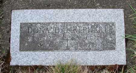 KEPHART, DONALD J - Tillamook County, Oregon   DONALD J KEPHART - Oregon Gravestone Photos