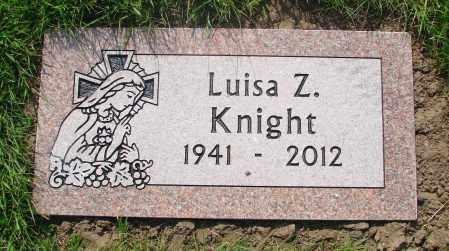 KNIGHT, LUISA Z - Tillamook County, Oregon | LUISA Z KNIGHT - Oregon Gravestone Photos