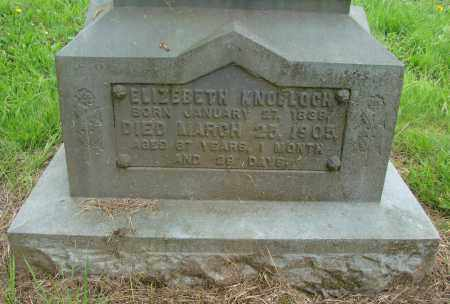 KNOBLOCH, ELIZEBETH - Tillamook County, Oregon | ELIZEBETH KNOBLOCH - Oregon Gravestone Photos