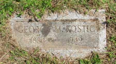 KOSTIC, GEORGE M - Tillamook County, Oregon | GEORGE M KOSTIC - Oregon Gravestone Photos