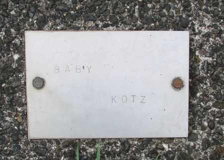 KOTZ, BABY - Tillamook County, Oregon | BABY KOTZ - Oregon Gravestone Photos