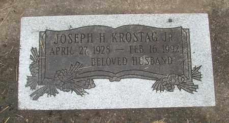 KROSTAG, JOSEPH HENRY JR - Tillamook County, Oregon | JOSEPH HENRY JR KROSTAG - Oregon Gravestone Photos