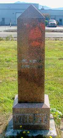 KUNZE, CARL - Tillamook County, Oregon | CARL KUNZE - Oregon Gravestone Photos