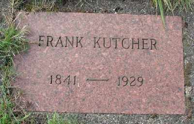 KUTCHER, FRANK - Tillamook County, Oregon | FRANK KUTCHER - Oregon Gravestone Photos