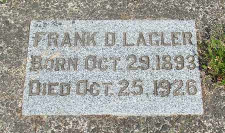LAGLER, FRANK D - Tillamook County, Oregon | FRANK D LAGLER - Oregon Gravestone Photos