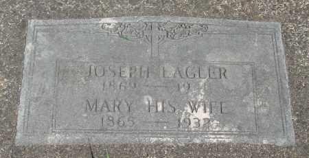 LAGLER, JOSEPH - Tillamook County, Oregon | JOSEPH LAGLER - Oregon Gravestone Photos