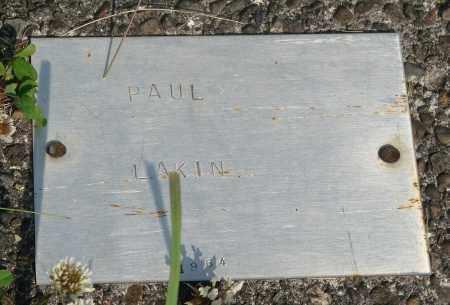 LAKIN, PAUL - Tillamook County, Oregon | PAUL LAKIN - Oregon Gravestone Photos