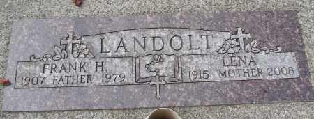 LANDOLT, LENA - Tillamook County, Oregon | LENA LANDOLT - Oregon Gravestone Photos