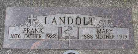 LANDOLT, FRANK - Tillamook County, Oregon | FRANK LANDOLT - Oregon Gravestone Photos