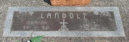LANDOLT, JOHANNA - Tillamook County, Oregon | JOHANNA LANDOLT - Oregon Gravestone Photos