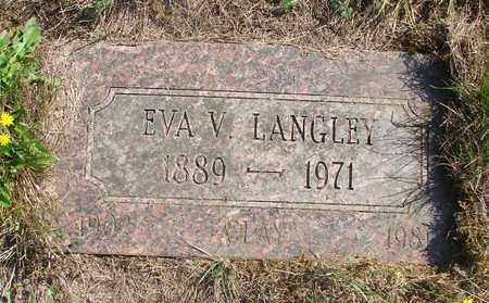 LANGLEY, CLAY - Tillamook County, Oregon | CLAY LANGLEY - Oregon Gravestone Photos