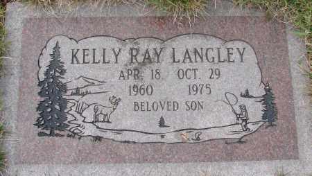 LANGLEY, KELLY RAY - Tillamook County, Oregon   KELLY RAY LANGLEY - Oregon Gravestone Photos