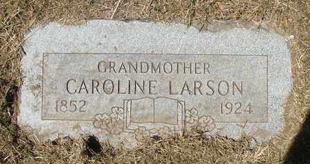 LARSON, CAROLINE - Tillamook County, Oregon | CAROLINE LARSON - Oregon Gravestone Photos