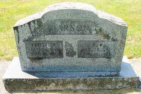 LARSON, FRIEDA A - Tillamook County, Oregon | FRIEDA A LARSON - Oregon Gravestone Photos