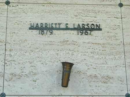 LARSON, HARRIETT E - Tillamook County, Oregon   HARRIETT E LARSON - Oregon Gravestone Photos