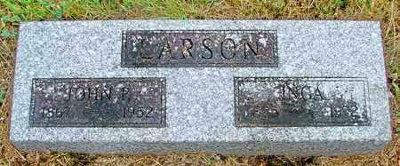 LARSON, JOHN P - Tillamook County, Oregon   JOHN P LARSON - Oregon Gravestone Photos
