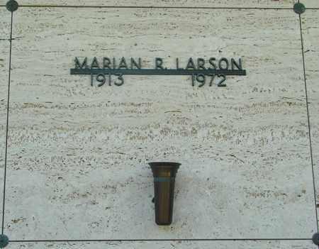LARSON, MARIAN R - Tillamook County, Oregon   MARIAN R LARSON - Oregon Gravestone Photos