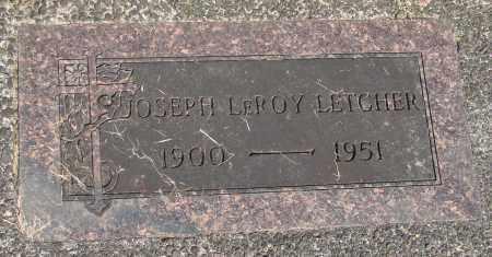 LETCHER, JOSEPH LEROY - Tillamook County, Oregon | JOSEPH LEROY LETCHER - Oregon Gravestone Photos