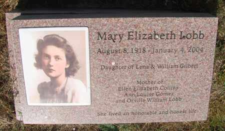 LOBB, MARY ELIZABETH - Tillamook County, Oregon | MARY ELIZABETH LOBB - Oregon Gravestone Photos