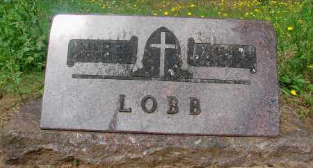 LOBB, JAMES WARREN - Tillamook County, Oregon | JAMES WARREN LOBB - Oregon Gravestone Photos