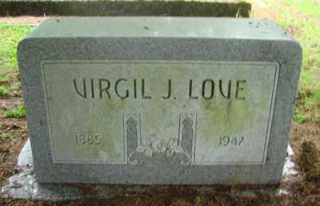 LOVE, VIRGIL J - Tillamook County, Oregon | VIRGIL J LOVE - Oregon Gravestone Photos