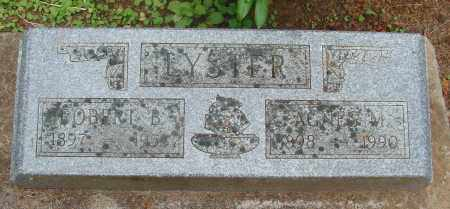 SIMMONS LYSTER, AGNES MURIEL - Tillamook County, Oregon | AGNES MURIEL SIMMONS LYSTER - Oregon Gravestone Photos