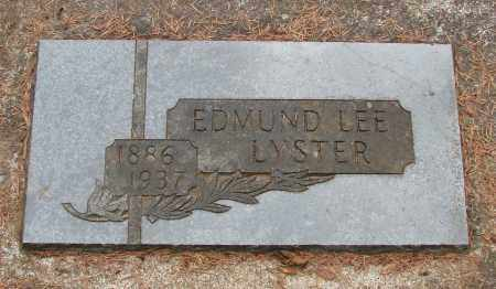 LYSTER, EDMUND FRANCIS LEE - Tillamook County, Oregon | EDMUND FRANCIS LEE LYSTER - Oregon Gravestone Photos