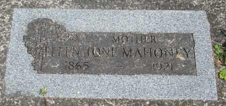 MAHONEY, ELLEN TONI - Tillamook County, Oregon   ELLEN TONI MAHONEY - Oregon Gravestone Photos