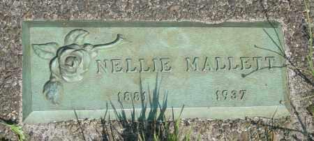 MALLETT, NELLIE - Tillamook County, Oregon | NELLIE MALLETT - Oregon Gravestone Photos
