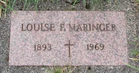 MARINGER, LOUISE F - Tillamook County, Oregon | LOUISE F MARINGER - Oregon Gravestone Photos