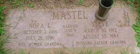 MASTEL, STEVE - Tillamook County, Oregon | STEVE MASTEL - Oregon Gravestone Photos