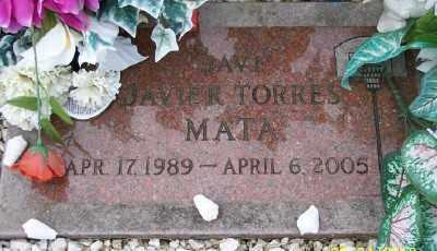 MATA, JAVIER R TORRES - Tillamook County, Oregon   JAVIER R TORRES MATA - Oregon Gravestone Photos