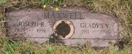 MAXWELL, GLADYS V - Tillamook County, Oregon   GLADYS V MAXWELL - Oregon Gravestone Photos