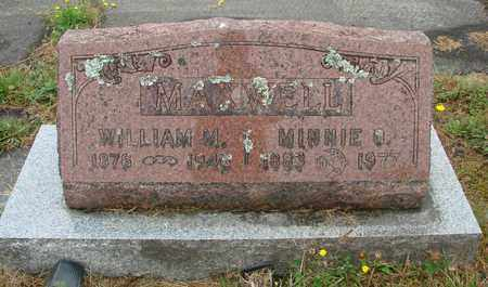 MAXWELL, MINNIE - Tillamook County, Oregon | MINNIE MAXWELL - Oregon Gravestone Photos