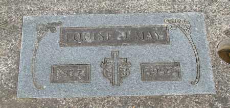 MAY, LOUISE J - Tillamook County, Oregon   LOUISE J MAY - Oregon Gravestone Photos