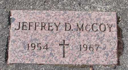 MCCOY, JEFFREY D - Tillamook County, Oregon | JEFFREY D MCCOY - Oregon Gravestone Photos