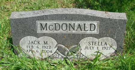 MCDONALD, JACK M - Tillamook County, Oregon | JACK M MCDONALD - Oregon Gravestone Photos