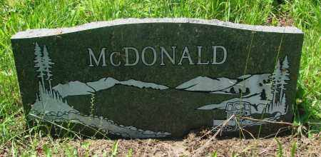 MCDONALD, JACK M - Tillamook County, Oregon | JACK M MCDONALD - Oregon Gravestone Photos