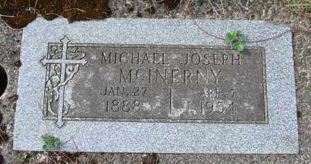 MCINERNY, MICHAEL JOSEPH - Tillamook County, Oregon | MICHAEL JOSEPH MCINERNY - Oregon Gravestone Photos