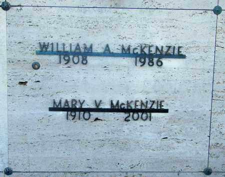 MCKENZIE, MARY V - Tillamook County, Oregon | MARY V MCKENZIE - Oregon Gravestone Photos