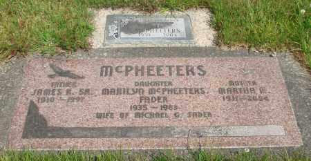 MCPHEETERS, PLOT - Tillamook County, Oregon   PLOT MCPHEETERS - Oregon Gravestone Photos