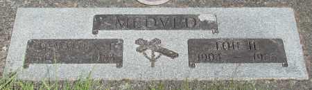 MEDVED, IGNATIUS J - Tillamook County, Oregon | IGNATIUS J MEDVED - Oregon Gravestone Photos